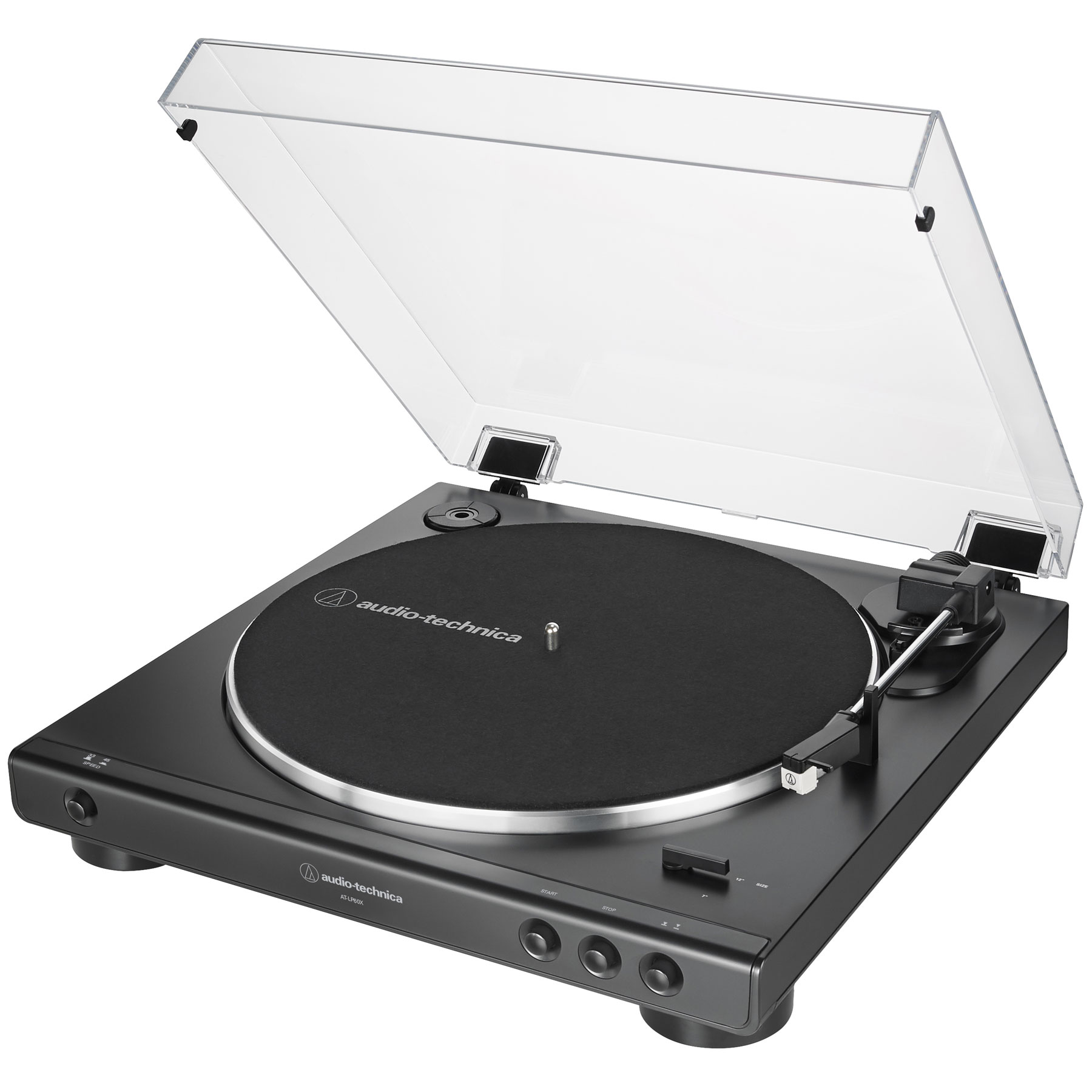 74db9098c8d Fully automatic belt-drive turntable operation with two speeds: 33-1/3, 45  RPM Anti-resonance, die-cast aluminum platter Integral Dual Magnet™ phono  ...