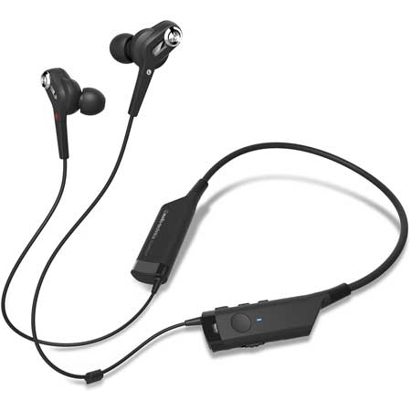 0c6a6a855c1 QuietPoint® active noise-cancelling technology reduces environmental noise  by up to 90% Reliable Bluetooth® wireless technology with in-line mic and  ...