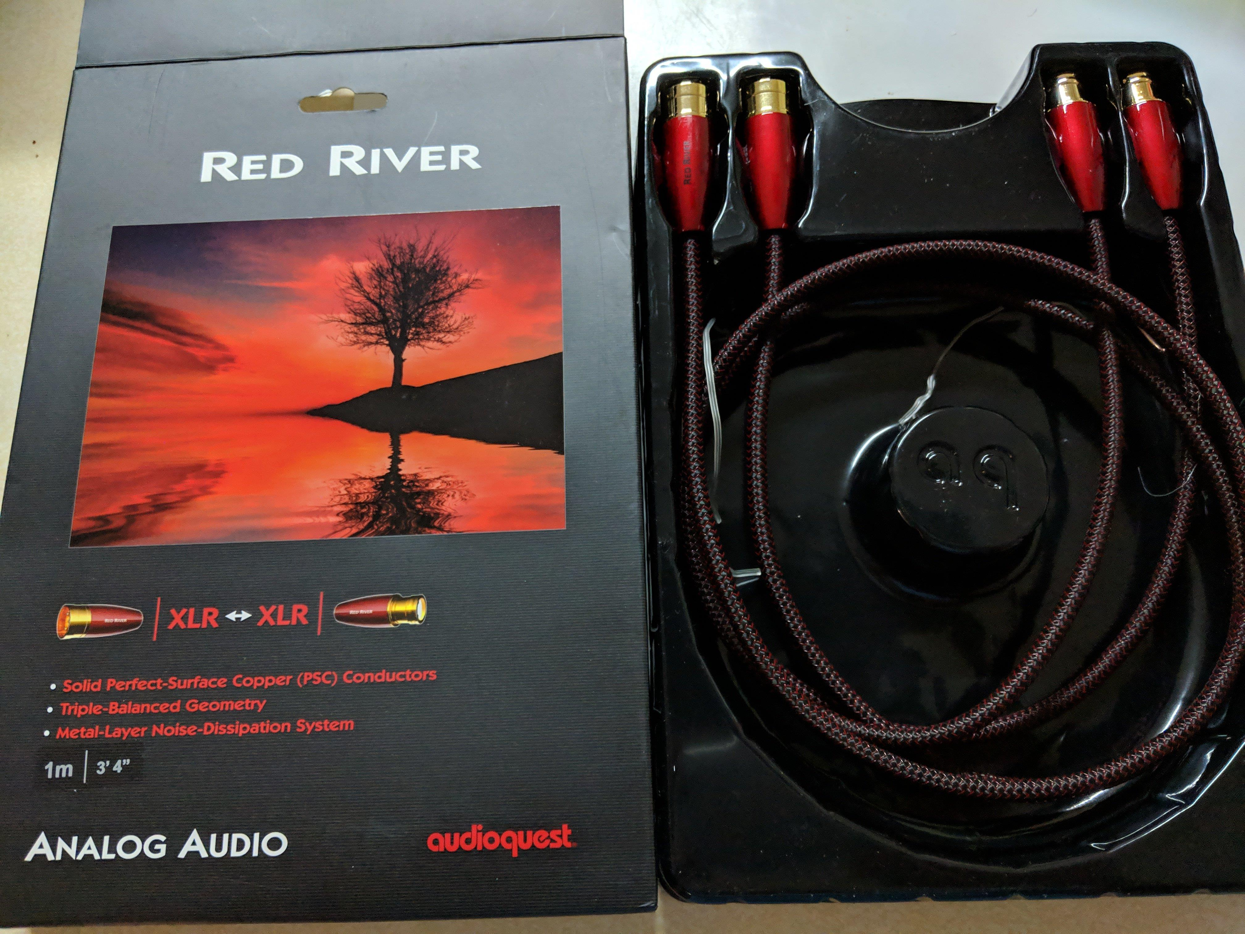 AudioQuest Red River XLR - XLR 1m