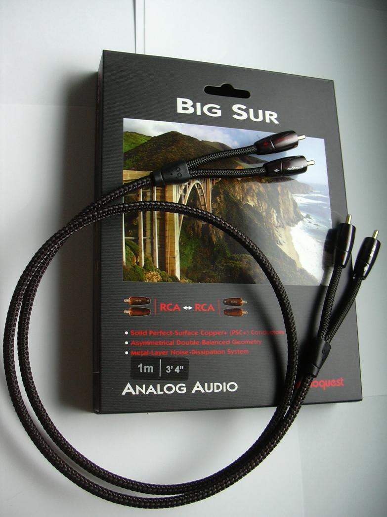 AudioQuest  Big Sur RCA-RCA 1 m
